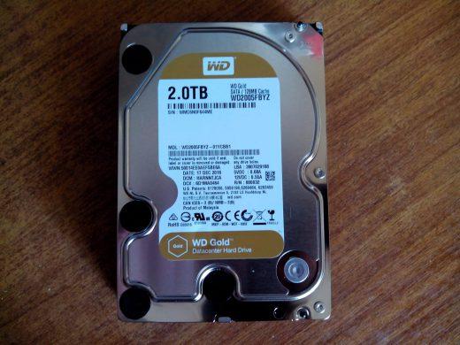 WD Gold 2 TB (WD2005FBYZ)